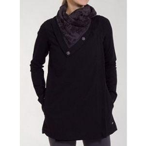 Lululemon Savasana wrap jacket black seabed size 2